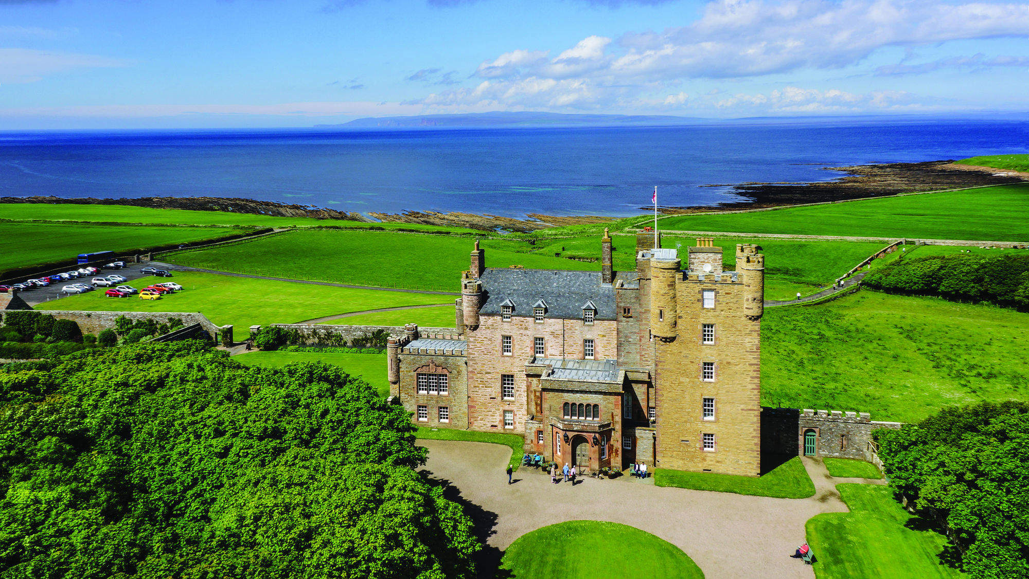 The Royal Heart Of Historic Caithness Castle Mey Was Property Queen Elizabeth